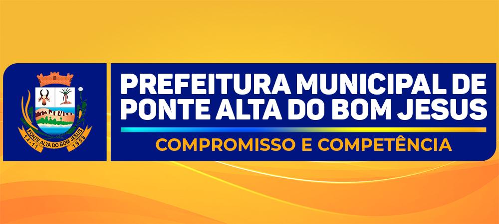 Prefeitura Municipal de Ponte Alta do Bom Jesus